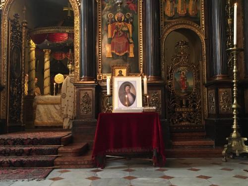 Βιέννη, Κυριακή 24 Ιουνίου 2018 στον Μητροπολιτικό Ιερό ναό της αγίας Τριάδος Αρχιερατικό Μνημόσυνο για τον Ρήγα και τους 7 Συντρόφους του χοροσταντούντος του Σεβασμιωτάτου κ. Αρσενίου